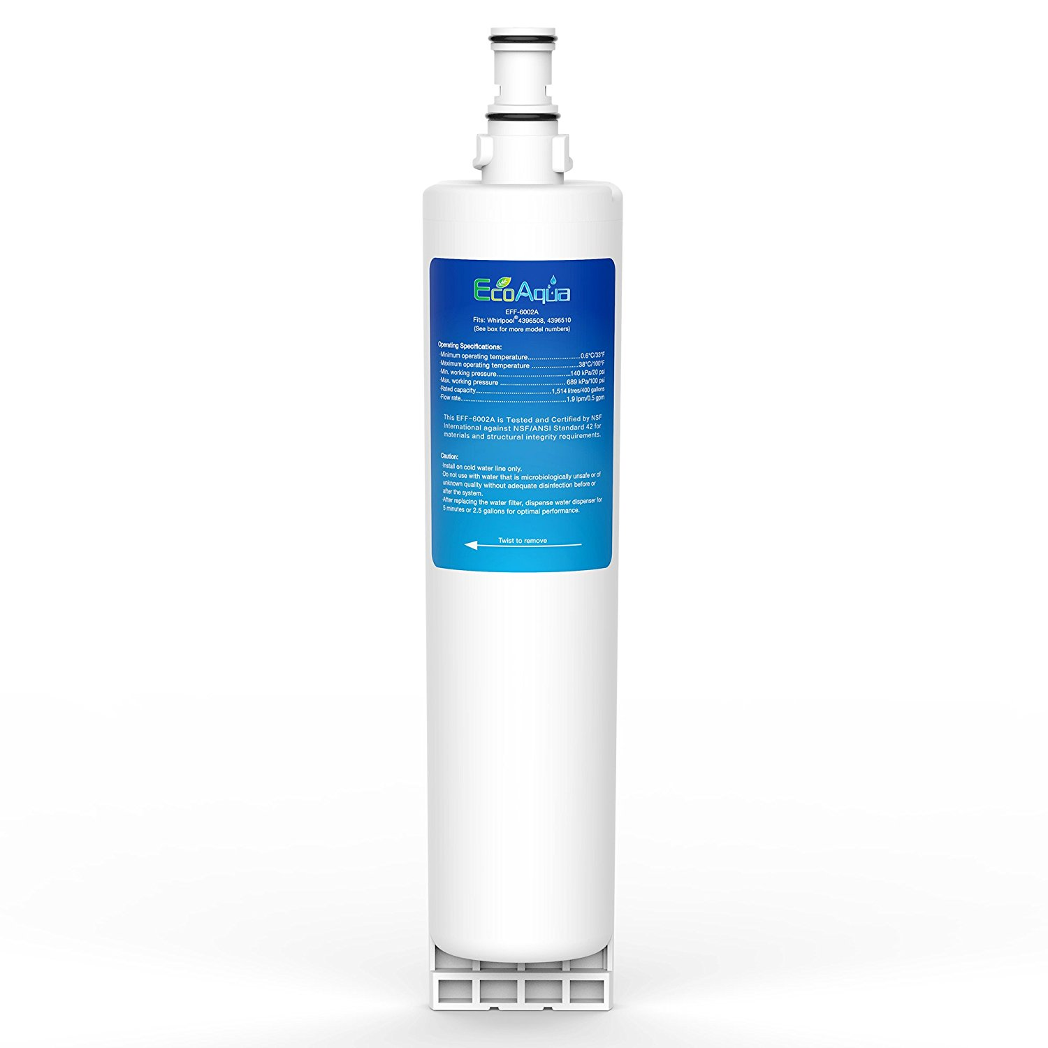 EFF-6002A Refrigerator water filter for Whirlpool