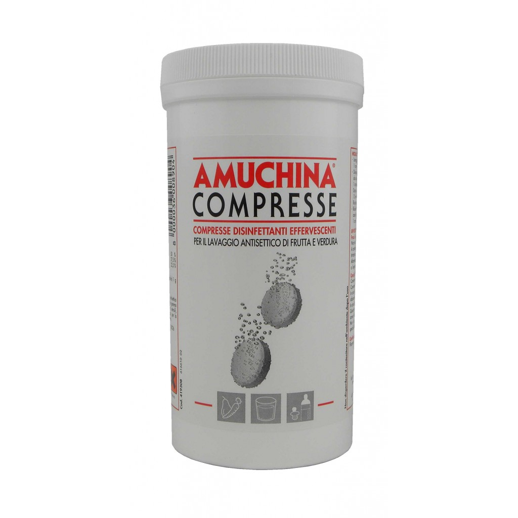 Amuchina Tablets for sanitation