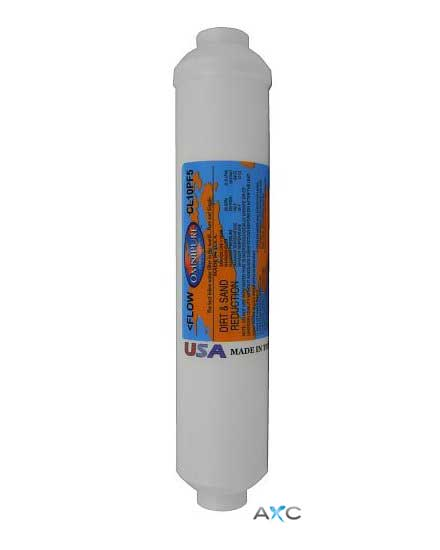 "Omnipure CL10 PF5 micron In-Line 10"" Sediment Filter"