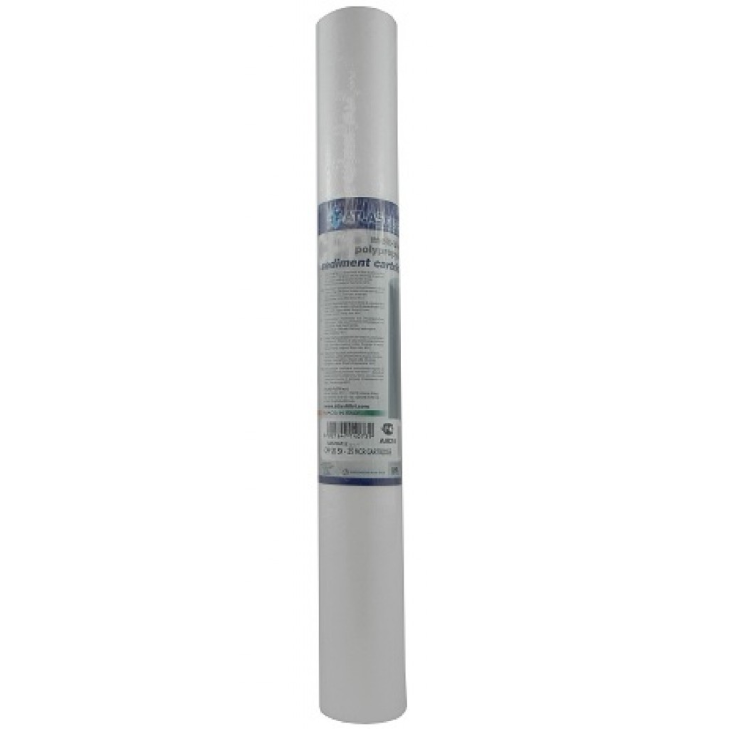 "20"" Polypropylene 5 micron 1/4 Sediment Cartridge"