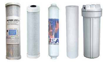 GAC,CTO,Sediment filters