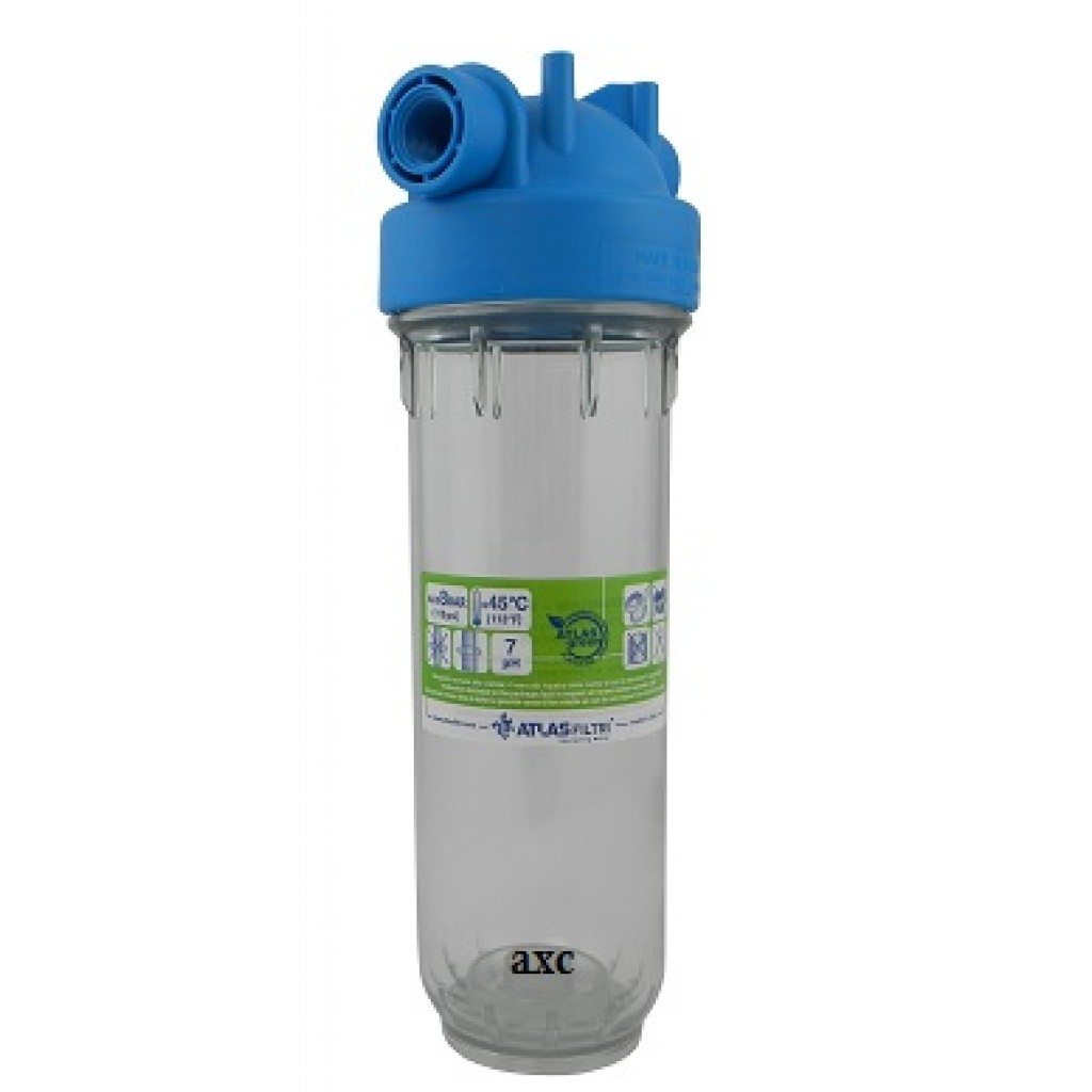 ATLAS Transparent Filters Vessel 10""