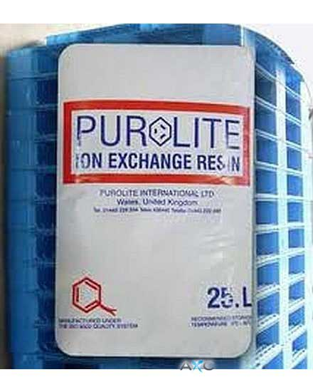Cationic ion exchange resins 25 l